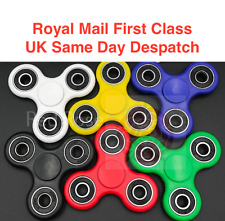 6 x Fidget Finger Spinner Hand Focus Spin EDC Bearing Stress Toys UK SELLER