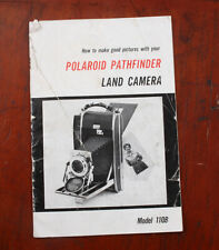 POLAROID PATHFINDER 110B INSTRUCTION BOOK, WORN AND TORN/213144