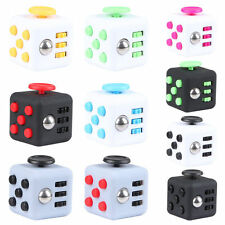 10x Magic Fidget Cube Anxiety Stress Relief Therapy Focus Gift For Adult Kids