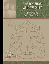 Ruby Short McKim's Toy Shop Window Quilt Pattern Book