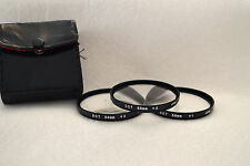 DOT 58 mm Close-Up Lens Set (+1,+2,+4) Screw-In with Case (N-13)