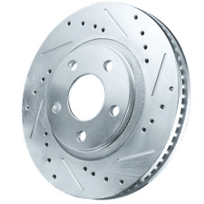 Power Stop Brake Rotor, Zinc Plated, Drilled/Slotted Surface, Ford, Rear, Pair A