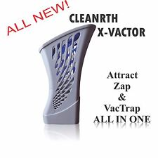 Bug Zapper | Cleanrth X-Vactor All-in-One Insect Bug Zapper and Fly Vacuum Trap
