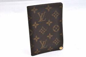 Authentic Louis Vuitton Monogram Porte Cartes Photos Case Brown M60485 LV 95758