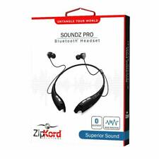 ZipKord Soundz Pro Bluetooth Headset - Universal Compatibility - NEW