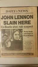 The Beatles  JOHN LENNON murdered in NYC, his Dakota Apartments Original 1980 NY