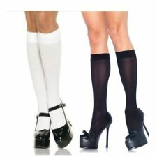 Patternless Hand-wash Only Knee-High Socks for Women