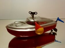 SCHUCO US ZONE GERMANY TELECO 3003 BOAT - RED L18.0cm -  GOOD CONDITION
