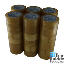 Premium Clear Tape 48mm X 75m - 72 Rolls Rubber Sydney