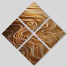 Modern Abstract Painting Metal Wall Art Home Decor - Synergy by Jon Allen