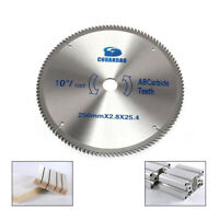 "10"" 120Tooth Circular Saw Blade Carbide Wheel Disc for Woodworking Cutting"