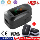 Finger Pulse Oximeter Professional Blood Oxygen Saturation Heart Rate Monitor US