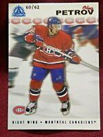🔥2001-02 Pacific Adrenaline Oleg Petrov #98 Premier Date /62 *CANADIENS*🔥