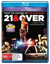 21 & Over [ BluRay ] BRAND  NEW,& SEALED, Region B, Fast  Post...6730