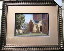 A J Peake's original Australian watercolour titled 'St Peters' Adelaide