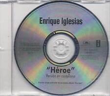 ENRIQUE IGLESIAS Cd Single HEROE Sung Spanish 2001