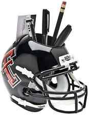 TEXAS TECH RED RAIDERS NCAA Schutt Mini Football Helmet DESK CADDY