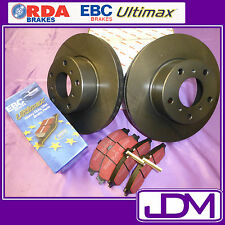 NISSAN NAVARA D40 2WD & 4WD *Check height - RDA Front Brake Discs & ULTIMAX Pads