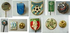 Old pin button badge football soccer sport SET DEAL