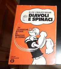 DIAVOLI E SPINACI di Segar 1^ Ed.OSCAR MONDADORI 1968 (nr177) OTTIME CONDIZIONI