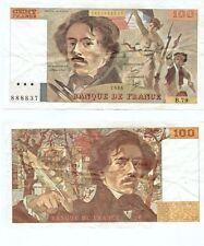 100 FRANCS DELACROIX de 1984   B. 79