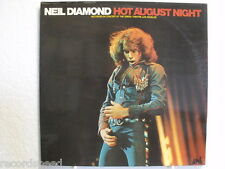 "★★ 12"" DLP - NEIL DIAMOND - Hot August Night - Live - FOC"