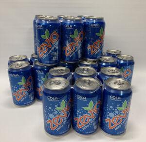 24 Cans! Zevia Zero Calorie Soda, Cola Naturally Sweetened Soda, 12 Ounce Cans