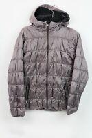 Columbia Women's Size M Purple Omni Heat Hooded Puffer Jacket