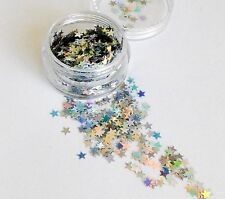 Beautiful Cosmetic Festival Glitter Holographic Star Child