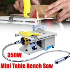 AU Electric 350W Table Saw Woodworking Bench Handmade Cutting Polishing Carving