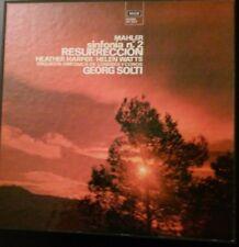 Mahler* / London Symp*, Georg Solti, H. Harper, H. Watts – S. nº 2 Resurreccio