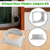 Exhaust HoseWindow Adaptor Kit Für Bewegliche Klimaanlage TubeOblong Connecto Nu