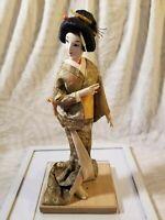 "Vintage Musume Geisha Doll 16 "" Cloth Hands Feet And Face"