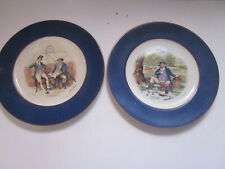2 Vintage Wedgwood Collector Plates Charles Dickens Ware Pickwick,The 2 Wellers