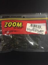 "Zoom Salty Lil' Critter Craw 4 1/2"" Watermelon Candy 12 Pkg"