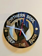 Northern Soul Wall Clock