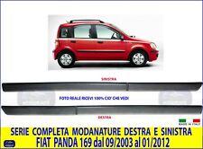KIT Modanature Salva Porte per FIAT Panda 169 dal 2003>2011  laterali in gomma