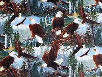 """29.5/"""" X Panel 44/"""" Águilas Call of the Wild Calva Digital De Tela De Algodón D483.29"""