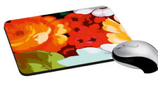 Flower Mouse Pad Rectangle Mouse Pad Design For Computer PC