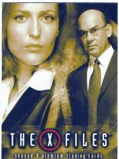 X Files Season 9 Promo Card P-UK