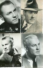 Raymond ROULEAU LOT de 4 PHOTOGRAPHIES sur CARTES dont HARCOURT - 3 -