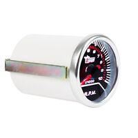 "Car Auto Universal Pointer Smoke Tint Len 2"" 52mm Tacho Tachometer Gauge WYS"
