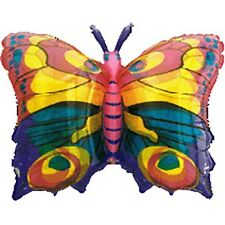 Shape Jewel Butterfly Transparent Foil Balloon (84 x 56cm) U03848 Party Decorat.