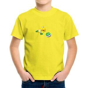 Toddler Kid Tee T-Shirt Infant Baby Bodysuit Gift Funny Koopa turtle Super Mario