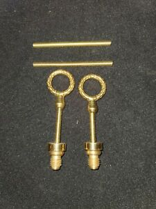 Antique  solid brass Mirror Screws a4
