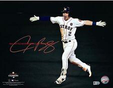 Alex Bregman  Houston Astros Autographed 8x10 Photo  (RP)