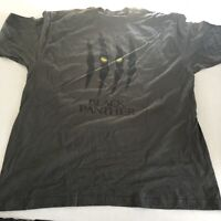 The Black Panther Claws Slash Logo Graphic T-Shirt Sz XXL A2121