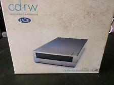 LaCie 52x32x52xUSB2.0 External Apple Firewire CD-RW Drive FA Porsche Design NEW