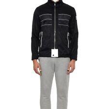 Moncler Gamme Bleu Mesh insert Striped Lightweight Jacket Coat SIZE M/L RRP £830