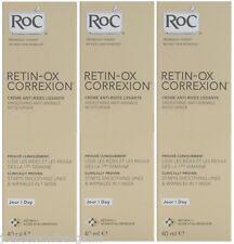 3 x 40ml RoC Retin-ox Correxion Smoothing Anti Wrinkle Moisturiser (EXP:05/2015)